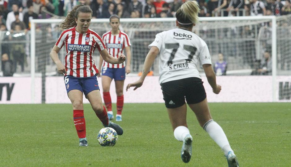Temp. 19-20 | Besiktas - Atlético de Madrid Femenino | Leire Peña