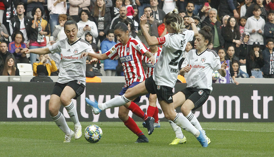 Temp. 19-20 | Besiktas - Atlético de Madrid Femenino | Caro Arias