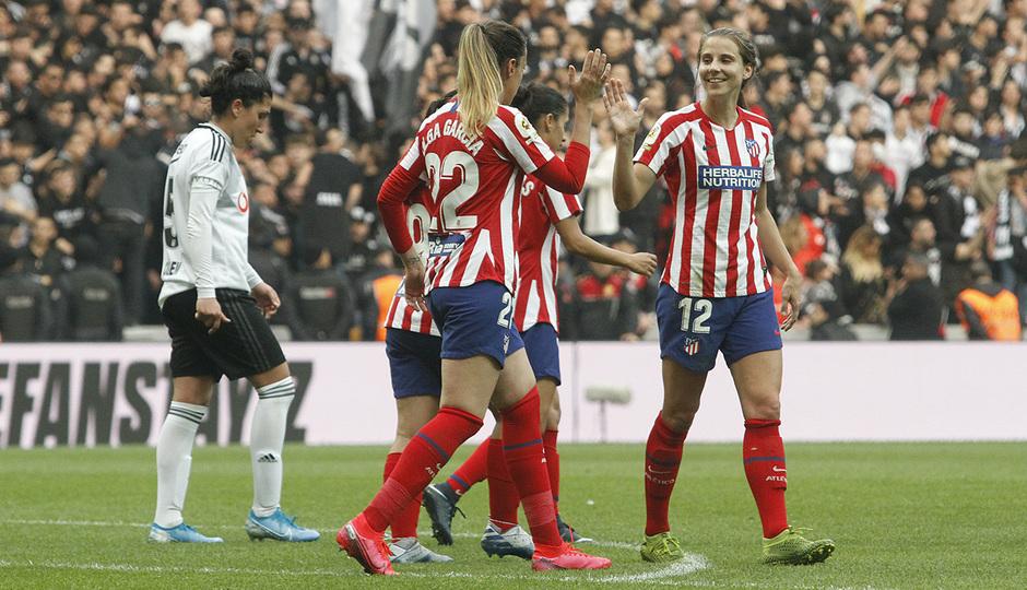 Temp. 19-20 | Besiktas - Atlético de Madrid Femenino | Celebración