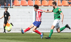 Temp 19/20   Atlético de Madrid B - Racing Ferrol   Camello