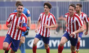 Temp 19/20   Atlético de Madrid B - Racing Ferrol   Toni Moya
