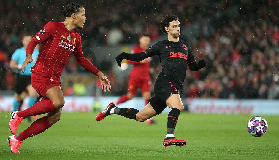 Temporada 19/20 | Liverpool - Atlético de Madrid | Joao Félix