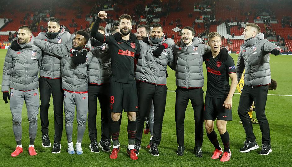Temporada 19/20 | Liverpool - Atlético de Madrid | Celebración