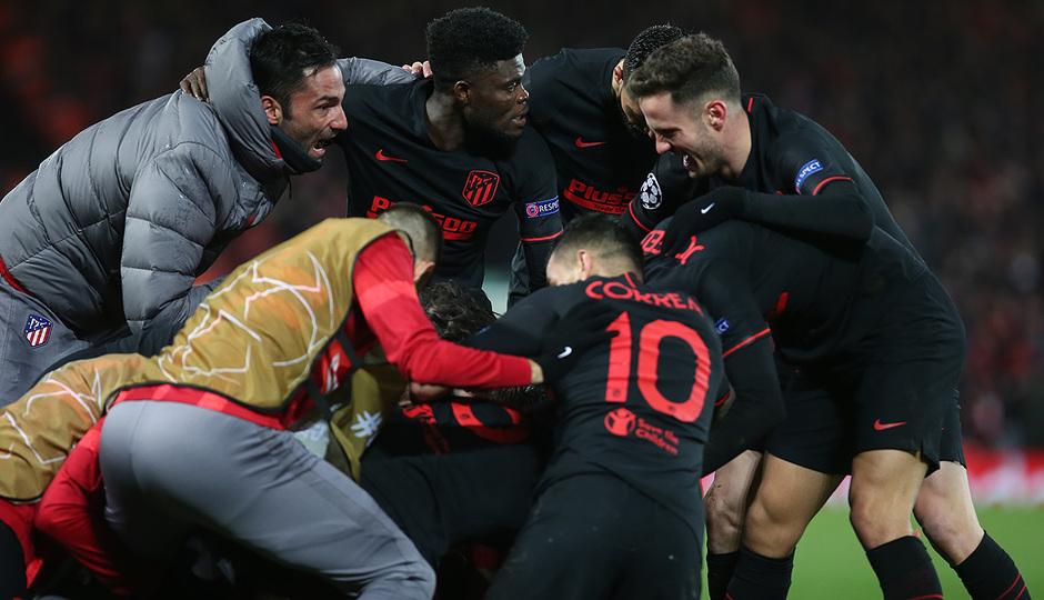 Temporada 19/20 | Liverpool - Atlético de Madrid | Gol