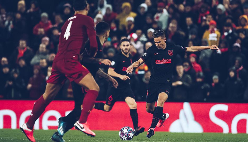 Temporada 19/20 | Liverpool - Atlético de Madrid | La otra mirada | Llorente