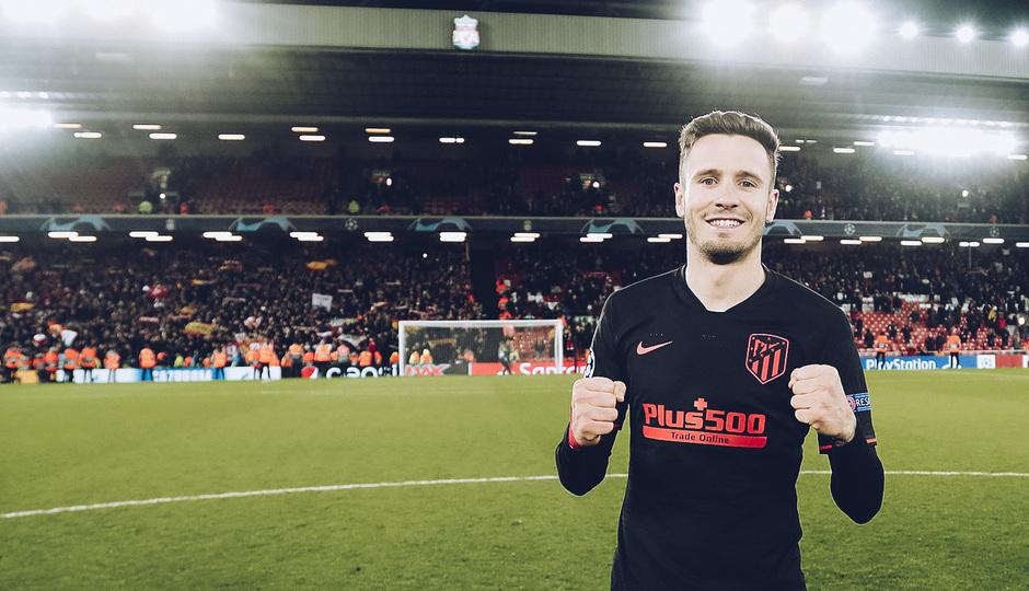 Temporada 19/20   Liverpool - Atlético de Madrid   La otra mirada   Saúl