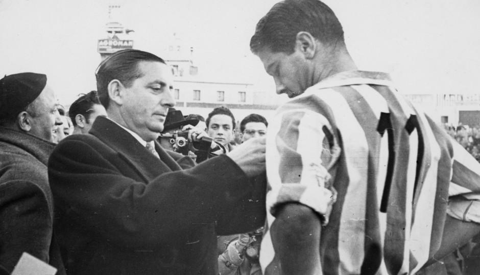 Adrián Escudero | Fotos históricas | Homenaje Escudero