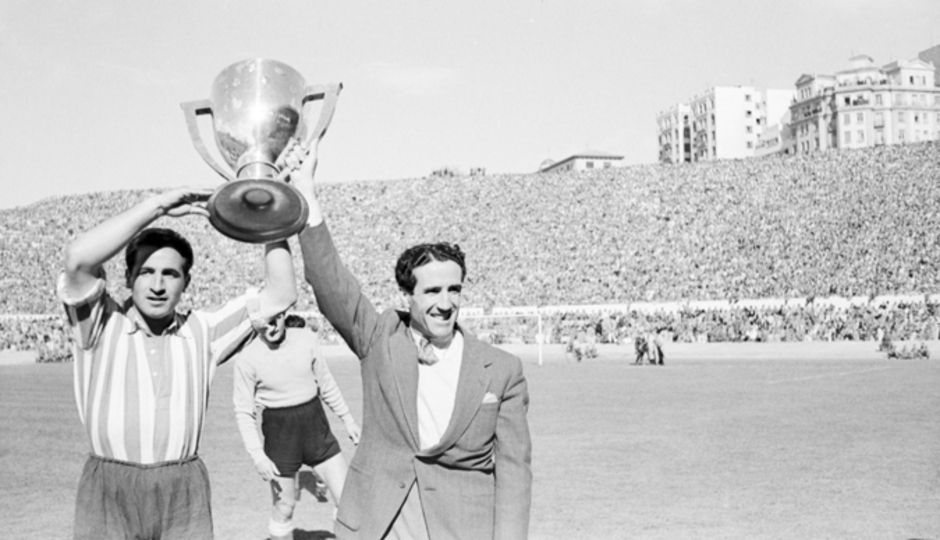 Fotos históricas | Estadio Metropolitano | Helenio Herrera y Aparicio