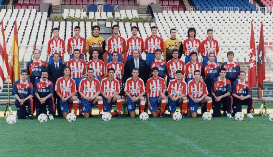 Plantilla del Atlético de Madrid | Temporada 1995-96 | Radomir Antic