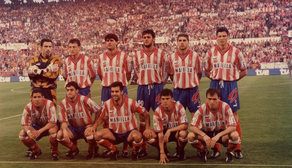 Final Copa del Rey 1996   Atlético de Madrid - FC Barcelona   Once