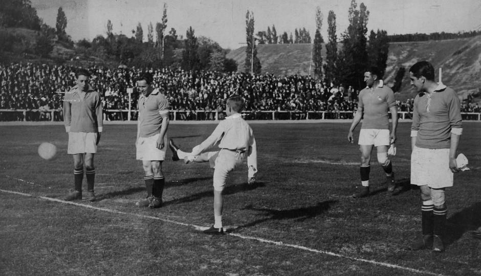 Inauguración Stadium Metropolitano 1923