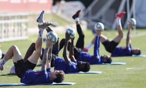 Temp. 19-20 | Entrenamiento en la Ciudad Deportiva Wanda de Majadahonda |