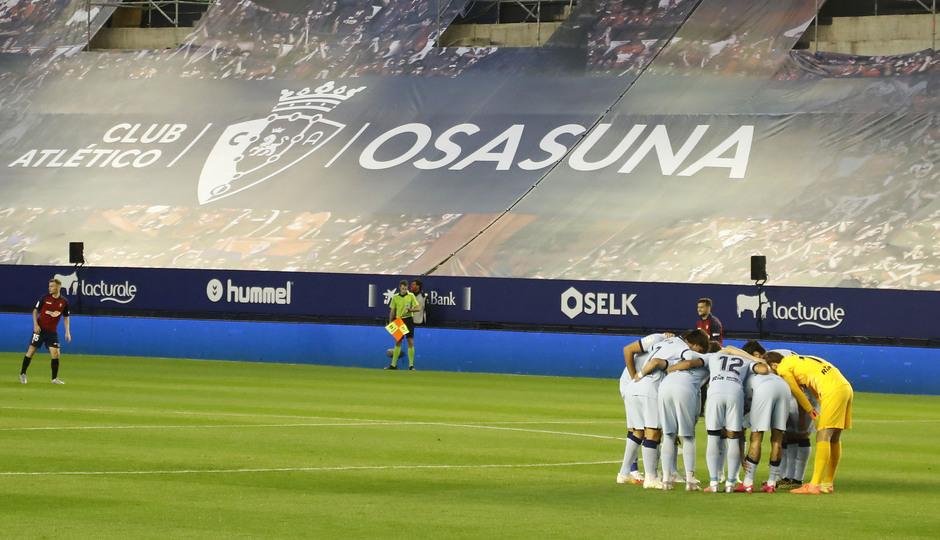 Temporada 2019/20   Osasuna-Atlético   Piña