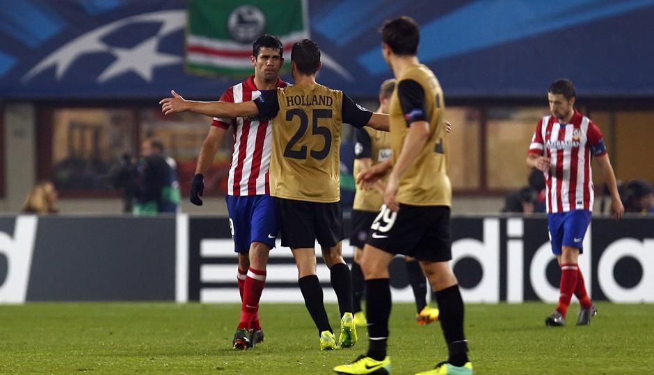 Diego con rival