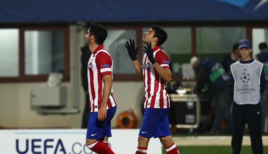 Diego celebra