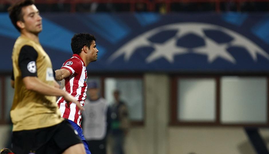 Diego celebracion