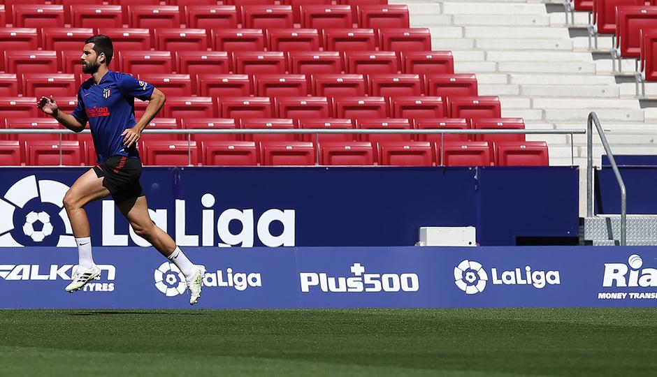 Temporada 19/20   Entrenamiento en el Wanda Metropolitano   19/06/2020   Felipe