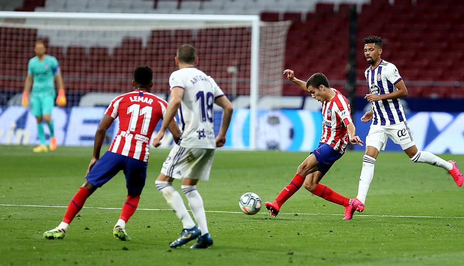 Temp 19/20   Atlético de Madrid - Valladolid   Manu Sánchez
