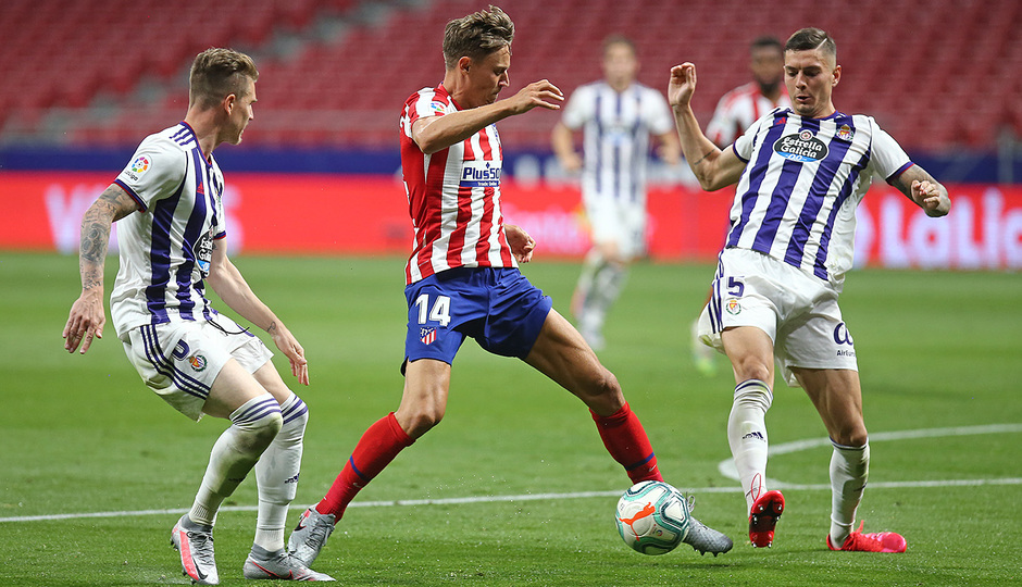 Temp 19/20 | Atlético de Madrid - Valladolid | Llorente