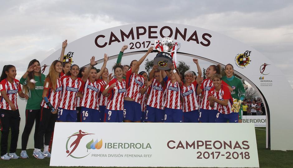 Lola Gallardo campeonas de Liga 2017-18