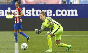Lola Gallardo 2016-17 partido Vicente Calderón vs Athletic