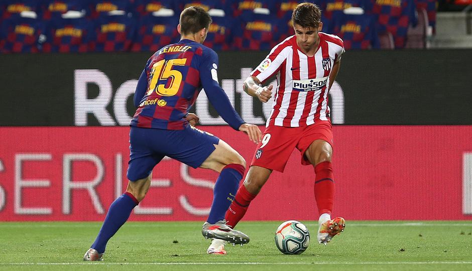 Temp. 19-20 | FC Barcelona - Atlético de Madrid | Morata