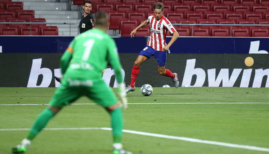 Temporada 19/20 | Atlético de Madrid - Mallorca | Llorente