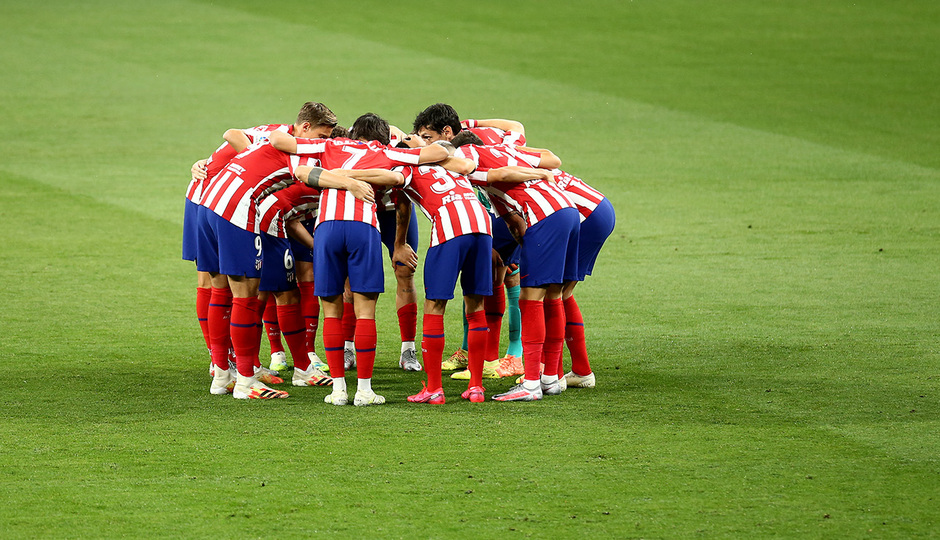 Temporada 19/20 | Atlético de Madrid - Mallorca | Piña