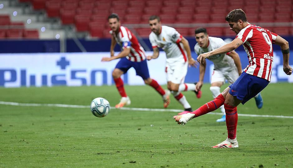 Temporada 19/20 | Atlético de Madrid - Mallorca | Morata