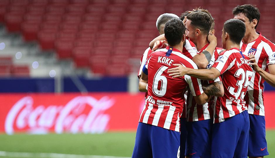 Temporada 19/20 | Atlético de Madrid - Mallorca | Celebración