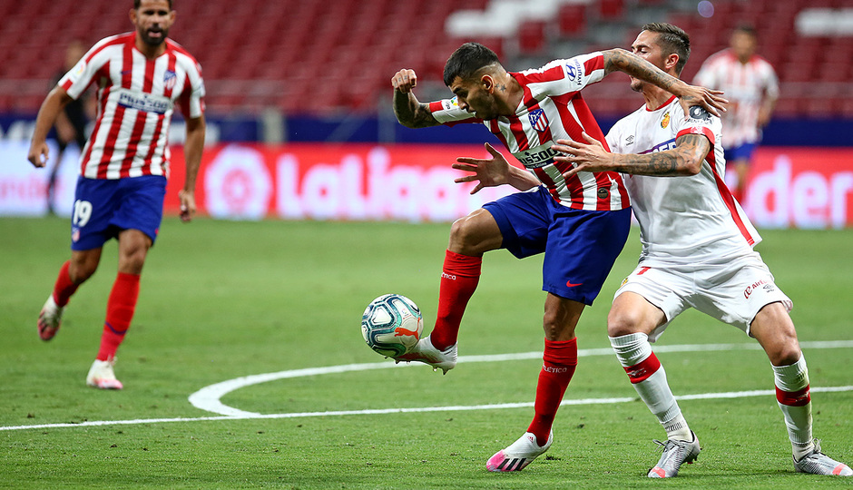 Temporada 19/20 | Atlético de Madrid - Mallorca | Correa