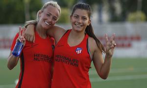 Temp. 20-21 | Entrenamiento Atlético de Madrid Femenino | Toni Duggan y Ana Marcos