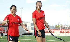 Temp. 20-21 | Entrenamiento Atlético de Madrid Femenino | Charlyn y Strom