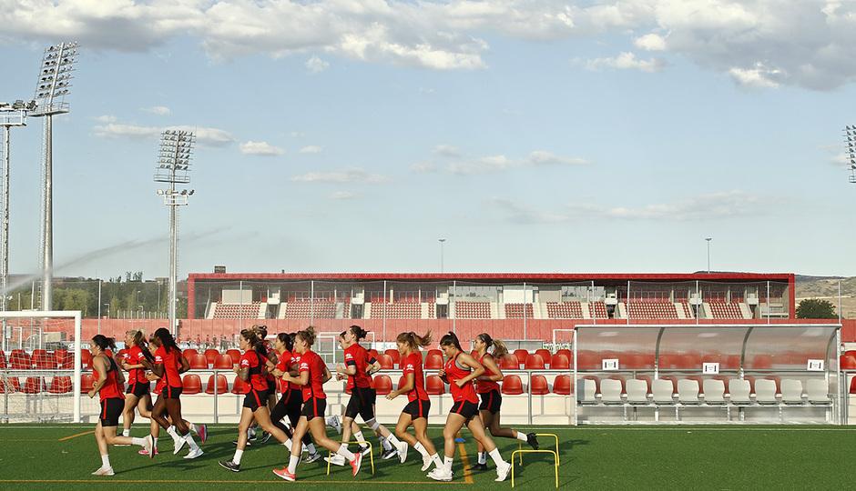 Temp. 20-21 | Entrenamiento Atlético de Madrid Femenino |
