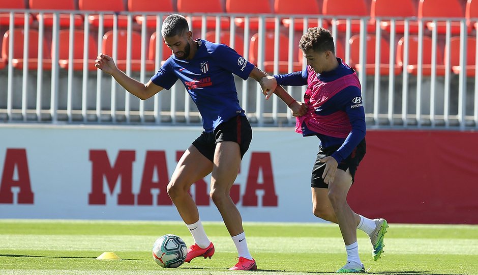 Temp. 19-20 | Entrenamiento 15/7/20 | Carrasco Trippier