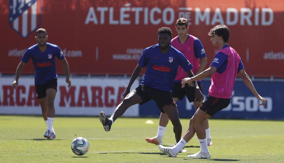 Entrenamiento 17/07/2020. Ciudad Deportiva Wanda. João Félix