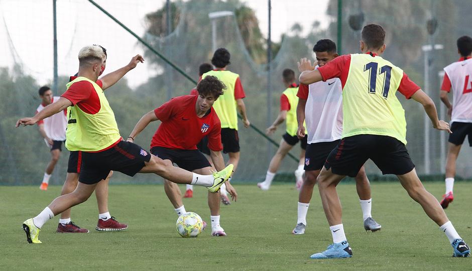 Temporada 19/20 | Entrenamiento en Marbella, fase de ascenso a Segunda División, Atlético B | Roro
