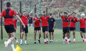 Temporada 19/20 | Entrenamiento en Marbella, fase de ascenso a Segunda División, Atlético B |