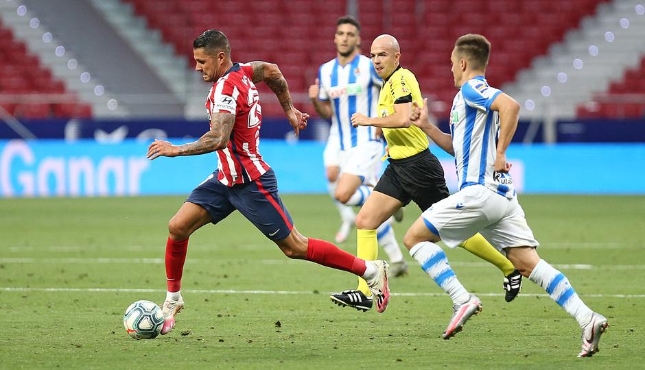 Temp. 19/20. Atlético de Madrid-Real Sociedad. Vitolo.