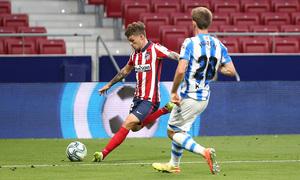 Temp. 19/20. Atlético de Madrid-Real Sociedad. Trippier.
