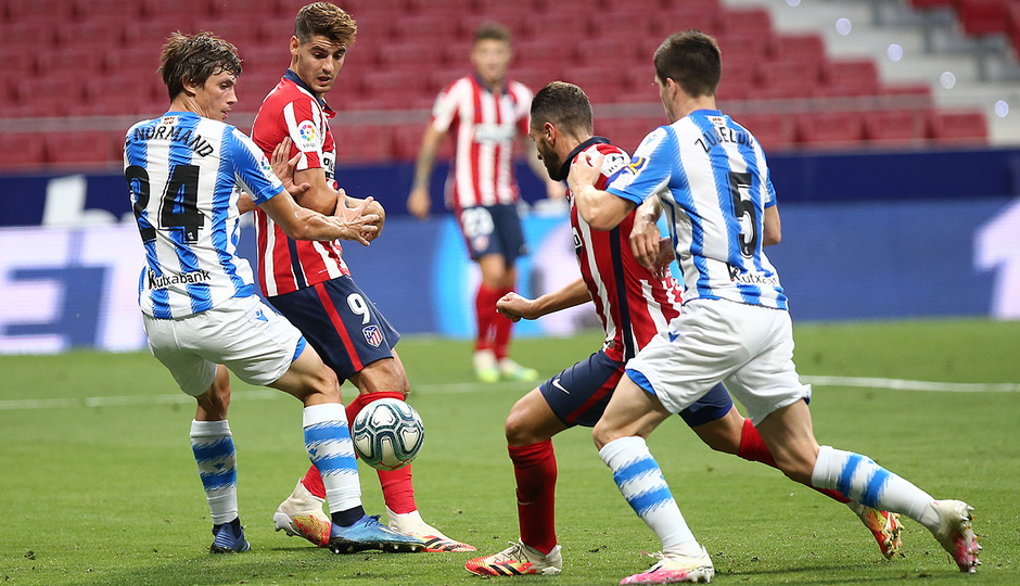 Temp. 19/20. Atlético de Madrid-Real Sociedad. Koke.