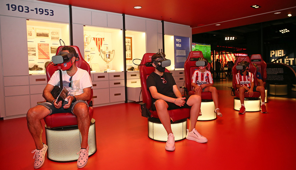 Temporada 2019/20 | Apertura Territorio Atleti | Realidad virtual