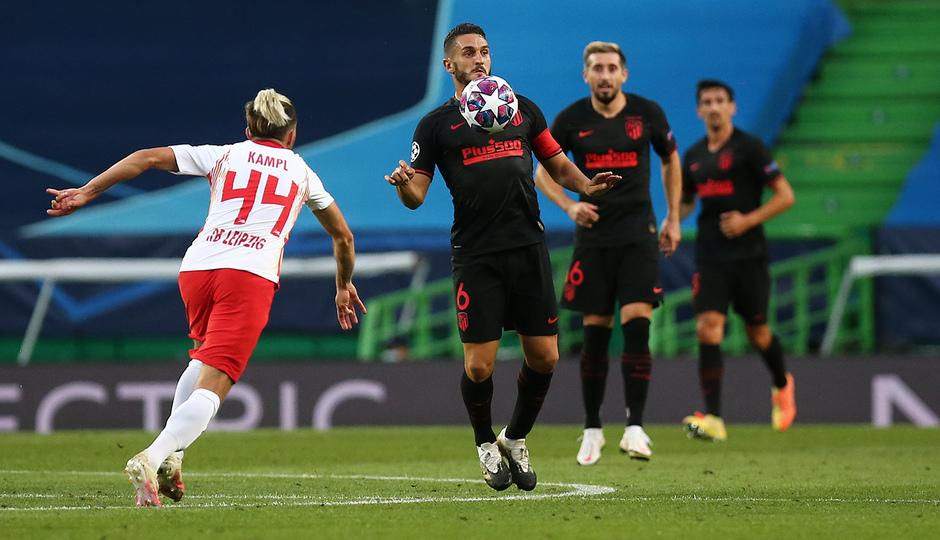 Temporada 19/20 | Champions League | RB Leipzig - Atleti | Koke
