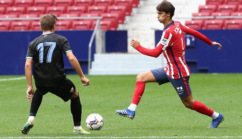 Temp. 20-21 | Entrenamiento con rival Almería | 19-09-20 | Joao Félix