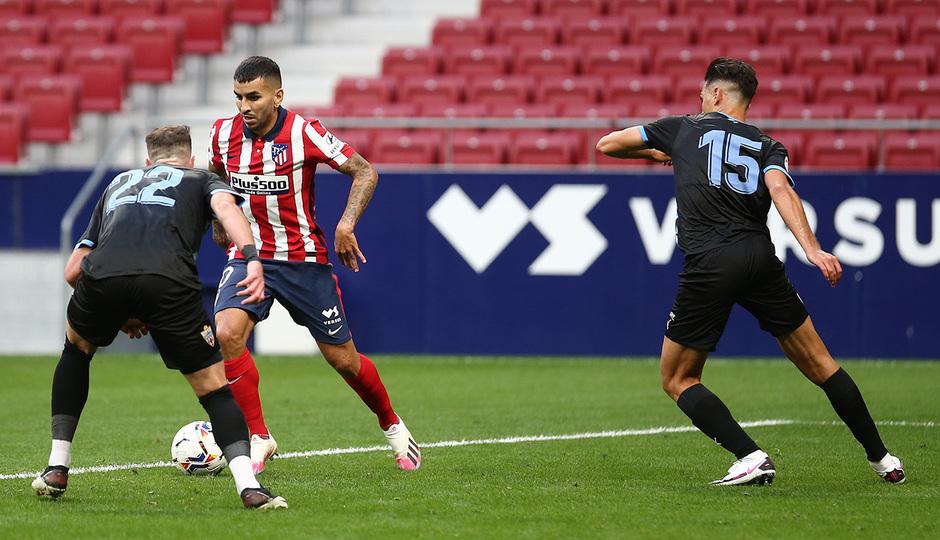 Temp. 20-21 | Entrenamiento con rival Almería | 19-09-20 | Correa