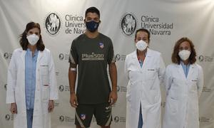 Temporada 2020/21   Bienvenido Luis Suárez   Reconocimiento médico