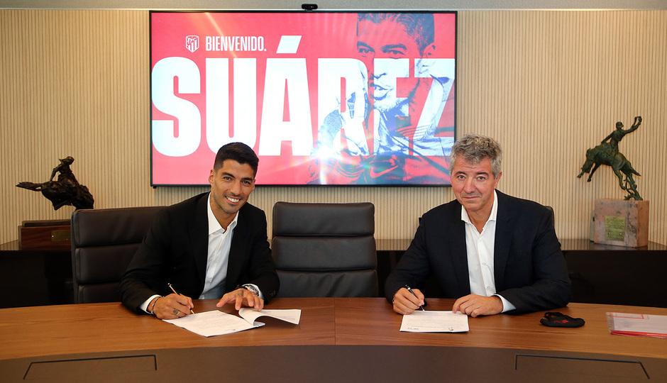 Temporada 2020/21 | Bienvenido Luis Suárez | Firma con Miguel Ángel Gil