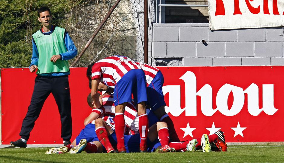 Temporada 13/14. Partido Atlético de Madrid B Puerta Bonita