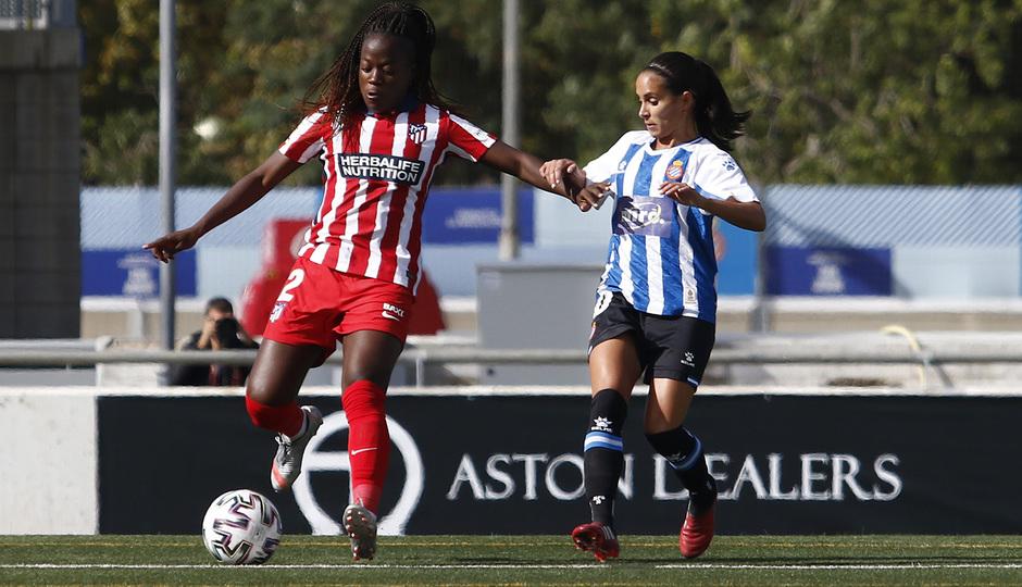 Temporada 20/21 | Espanyol-Atlético de Madrid Femenino | Kazadi