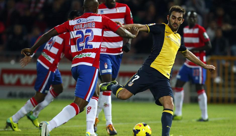 Temporada 13/14 Liga BBVA. Granada Atletico de Madrid